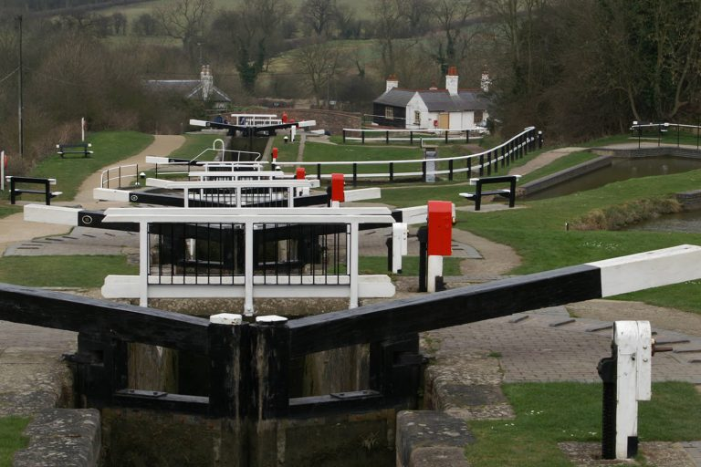 Foxton Locks near Market Harborough